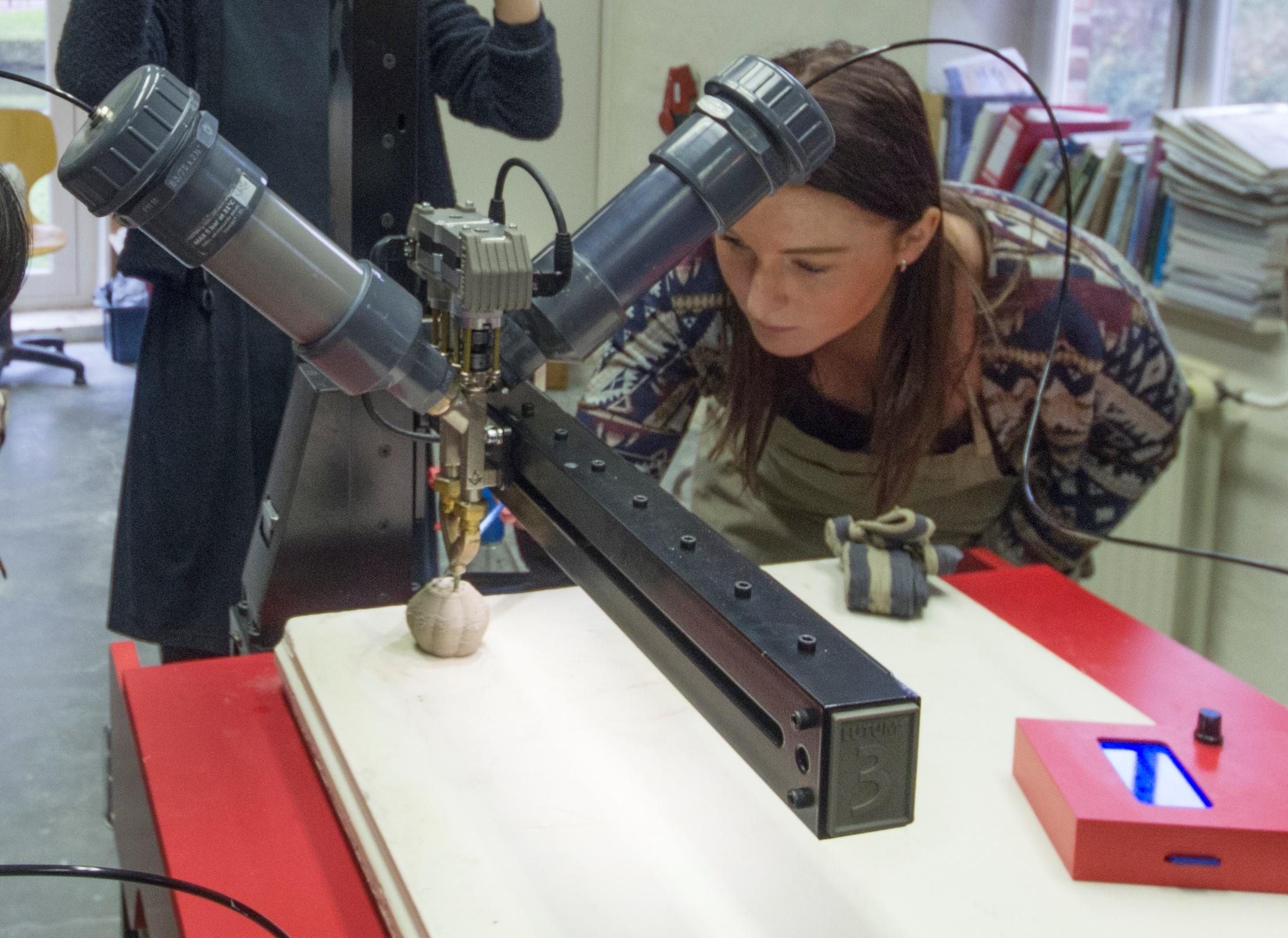 3Dprinter inwerking