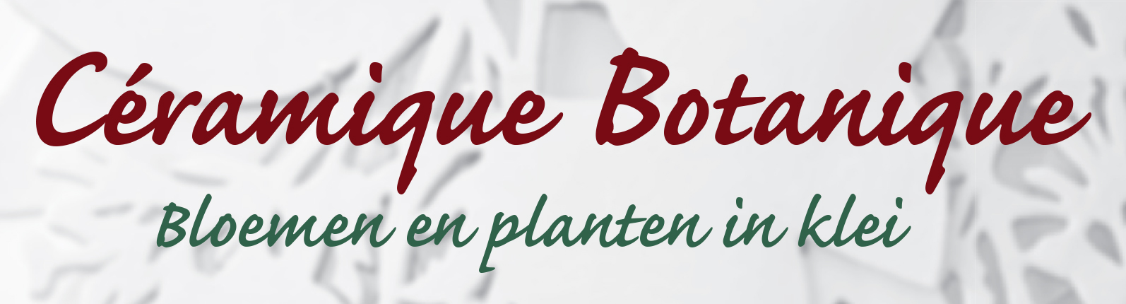 KTT flyer Ceramique botanique_DEFDRUK.indd